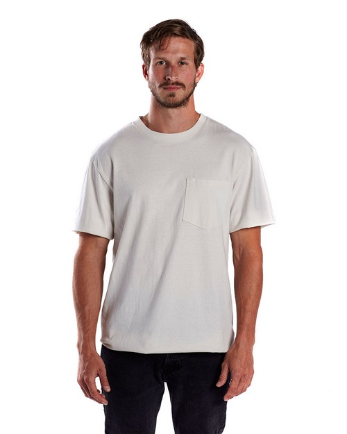 US Blanks US3017 Mens 5.4 oz. Tubular Workwear Tee