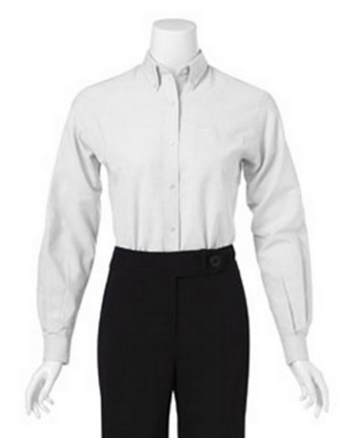 Van Heusen 13V0002 Ladies Long Sleeve Easy Care Oxford