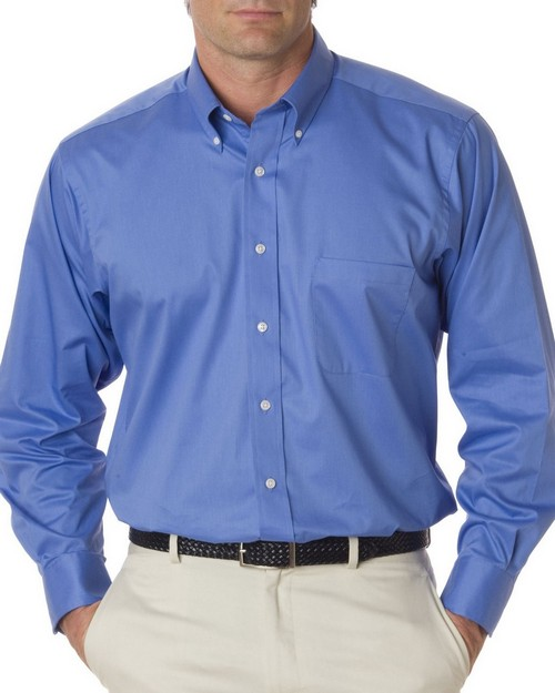 Van Heusen 13V521 Mens Dress Twill Shirt