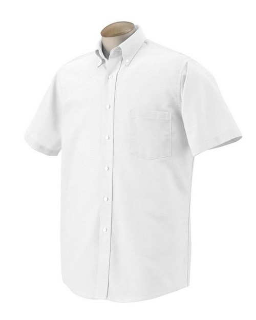 Van Heusen 56850 Mens Short Sleeve Oxford