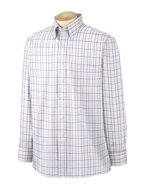 Van Heusen 56900 Men's Wrinkle Resistant Blended Pinpoint Oxford