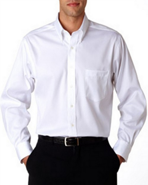 Van Heusen V0143 Men's Pinpoint Shirt