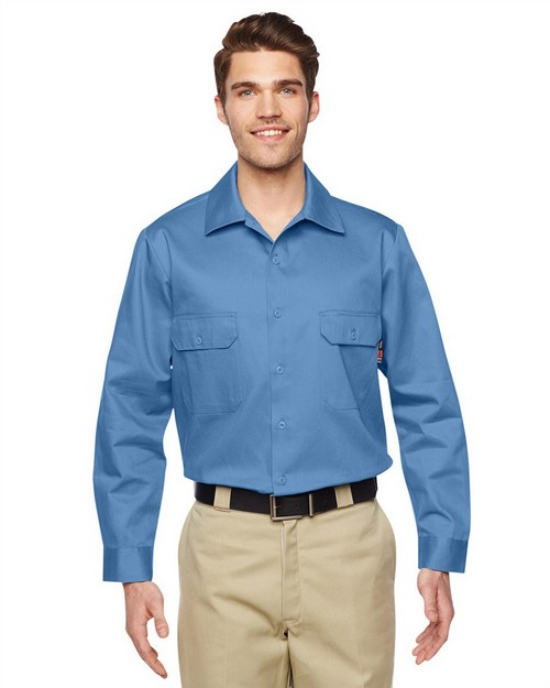 Walls 56915 Mens Flame Resistant Core Work Shirt