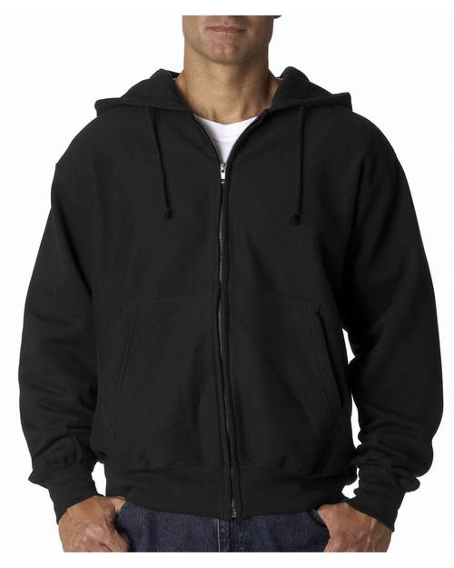 Weatherproof 7711 11oz Cross Weave Zip Hood