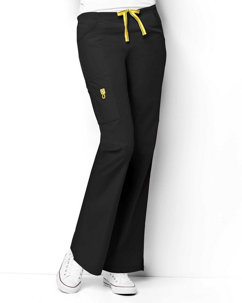 Wonderwink 5026T Women's Tall Romeo 6 Pocket Flare Leg Pant