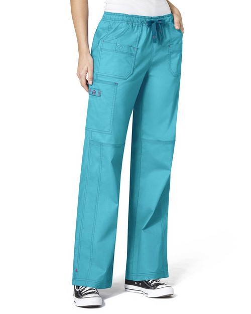 Wonderwink 5108P Women's Petite Faith Multi-Pocket Cargo Pant