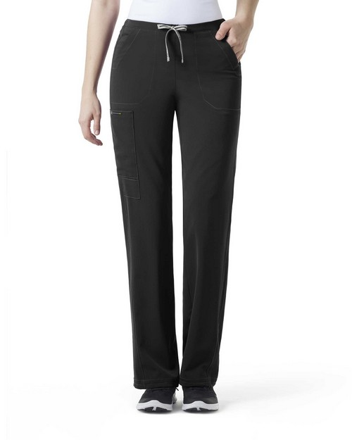Wonderwink 5212T Women's Tall Ion - Boot Cut Cinch Cargo Pant