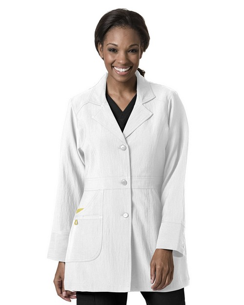Wonderwink 7004 Women's Stretch Lab Coat