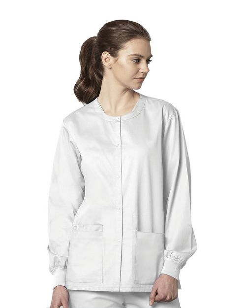 Wonderwink 800 Unisex Snap Front Jacket