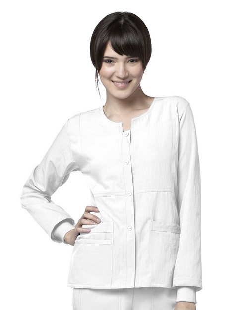 Wonderwink 8114 Women's Sporty Button Front Jacket