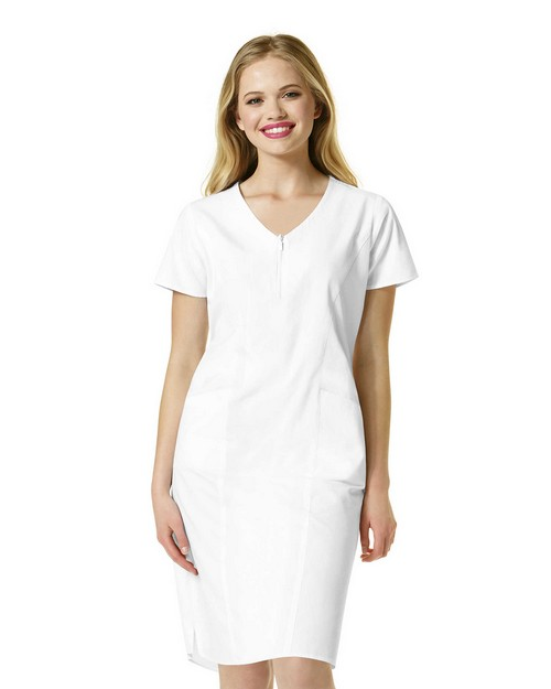 Wonderwink 9006 Women's Zip Front Dress