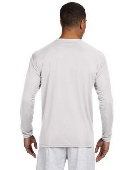 A4 N3165 Adult Cooling Performance Long Sleeve Crew