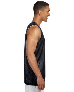 A4 NF1270 Adult Reversible Mesh Tank