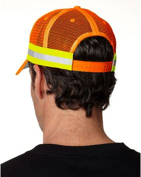 Adams TR102 Trucker Reflector Cap
