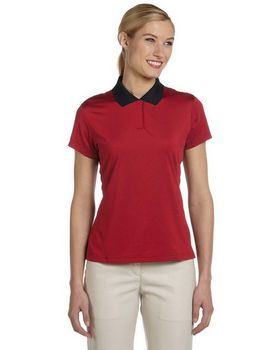 Adidas Golf A120 Ladies ClimaLite Stripe S-Sleeve Polo