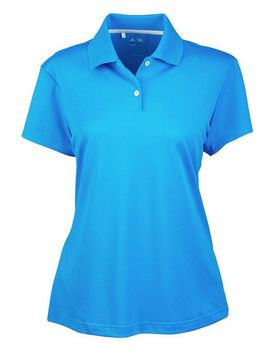 Adidas Golf A122 Ladies' ClimaLite S-Sleeve Pique Polo