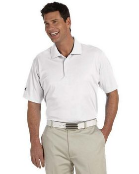 Adidas Golf A130 Men's ClimaLite Pique St-Sleeve Polo
