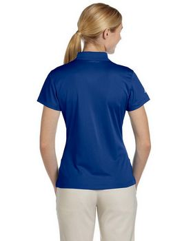 Adidas Golf A131 Ladies' ClimaLite Pique Short-Sleeve Polo