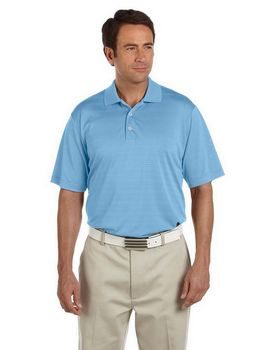 Adidas Golf A161 ClimaLite Textured S-Sleeve Polo