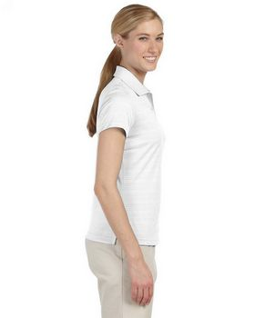Adidas Golf A162 Ladies Textured S-Sleeve Polo