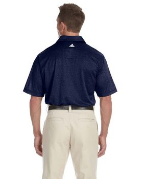 Adidas Golf A163 Men's ClimaLite Heather Polo