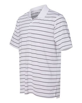 Adidas Golf A196 2-Color Stripe Jersey Sport Shirt