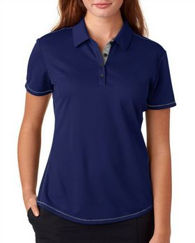 Adidas Golf A222 Adidas Ladies' ClimaCool Mesh Color Hit Polo