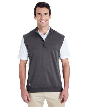 Adidas Golf A271 Mens Quarter-Zip Club Vest