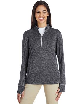 Adidas Golf A285 Ladies Quarter-Zip Pullover