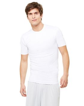 Alo Sport M1007 Mens Short-Sleeve Compression T-Shirt