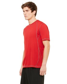 Alo Sport M1021 Men's S-Sleeve Pieced Interlock T-Shirt
