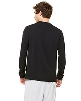 Alo M3002 Long-Sleeve Contrast Tee