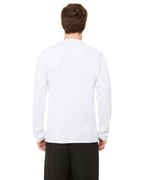 Alo Sport M3102 Mens Performance Triblend Long-Sleeve T-Shirt