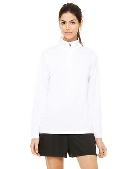 Alo Sport W3006 Ladies Zip Lightweight Pullover