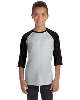Alo Sport Y3229 Youth Baseball T Shirt