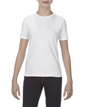 Alstyle AL5081 Youth 4.3 oz.; Ringspun Cotton T-Shirt