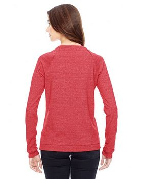 Alternative 01919E Ladies Eco Mock Pullover