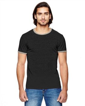 Alternative 01957E Mens Eco Mock T-Shirt