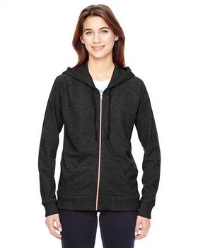 Alternative 09573EY Ladies Eco Mock Hoodie