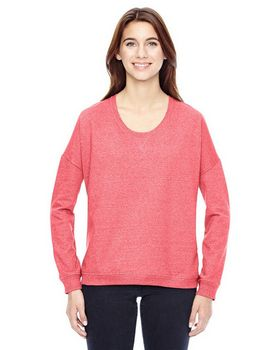 Alternative 09833E Ladies Eco Mock Crewneck