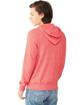 Alternative 09880E Men's Eco Mock Twist Rocky Zip Hoodie