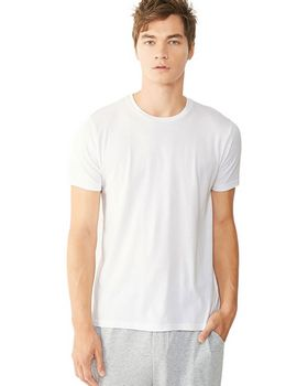 Alternative 12523P Mens Cotton Perfect Crew T-Shirt at ApparelnBags.com