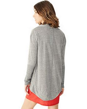 Alternative 12529E Ladies Eco-Jersey Rib Sleeve Wrap at ApparelnBags.com
