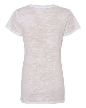 Alternative 2662 Diane Burnout V-Neck T-Shirt