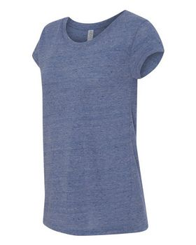 Alternative 2829 Womens Eco Nep Jersey Harbor T-Shirt