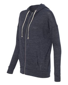 Alternative 2896 Eco Jersey Cool Down Hooded Full-Zip
