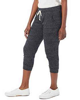 Alternative 2900E Ladies Cropped Eco Jersey Jogger Pants