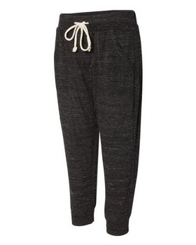 Alternative 2900 Womens Eco-Jersey Cropped Jogger