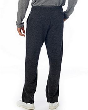 Alternative 3500F2 Mens Hustle Eco-Fleece Open Bottom Sweatpants at ApparelnBags.com