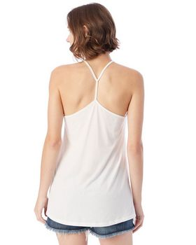 Alternative 4863C1 Ladies Strappy Satin Jersey Tank at ApparelnBags.com